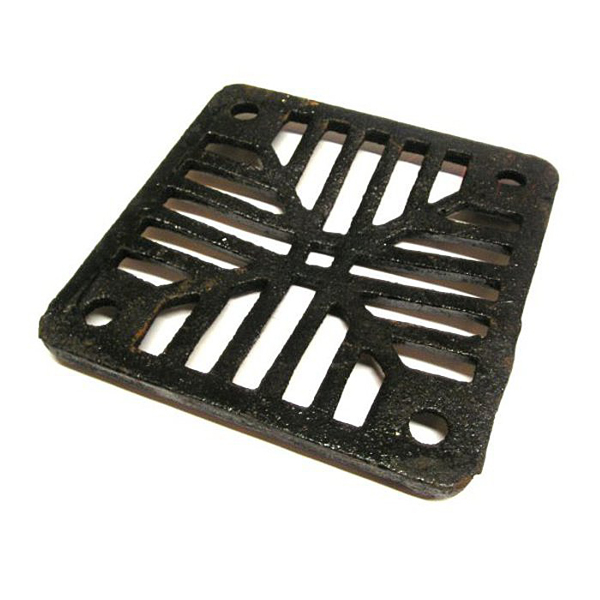 Cast Iron Grate - Square - 150mm x 150mm