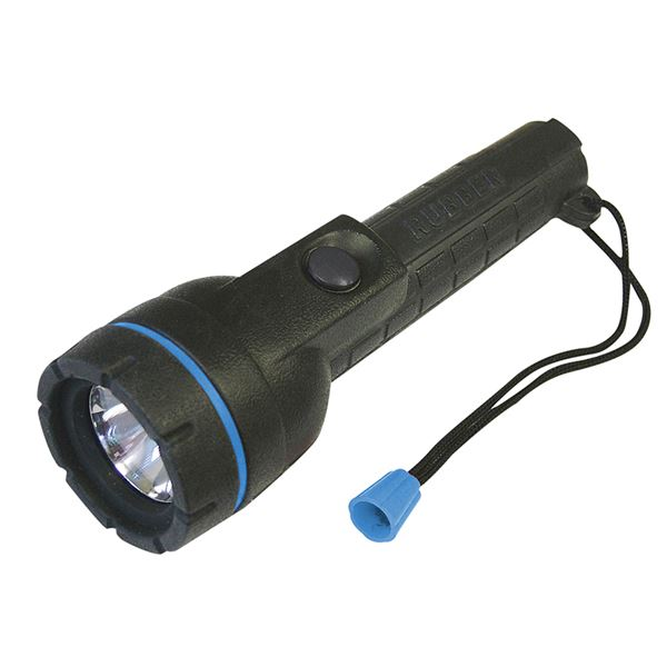 Lighthouse Rubber Torch - AA Cell