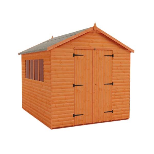 Tiger Heavyweight Workshop Shed - Logboard Special -  12Ft Length x 8Ft Width
