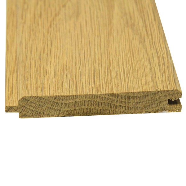 American Oak PTGV Cladding - 19mm x 100mm - Per Metre