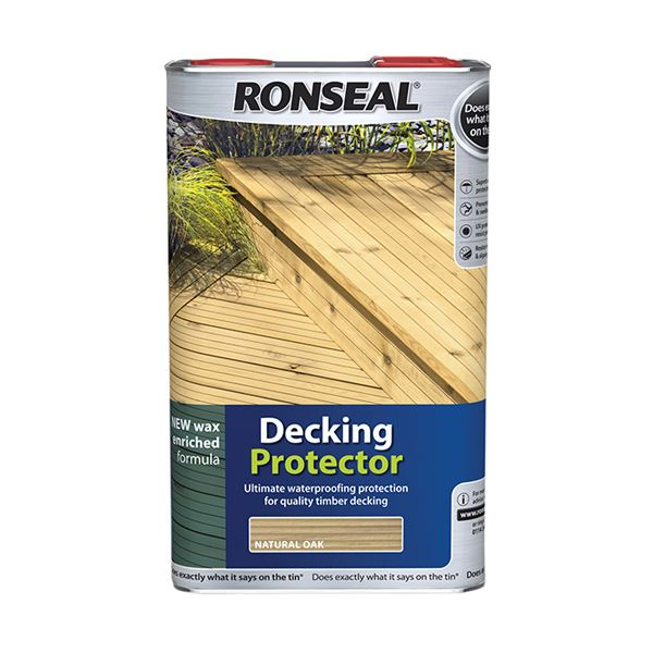 Ronseal Decking Protector 5Lt - Natural