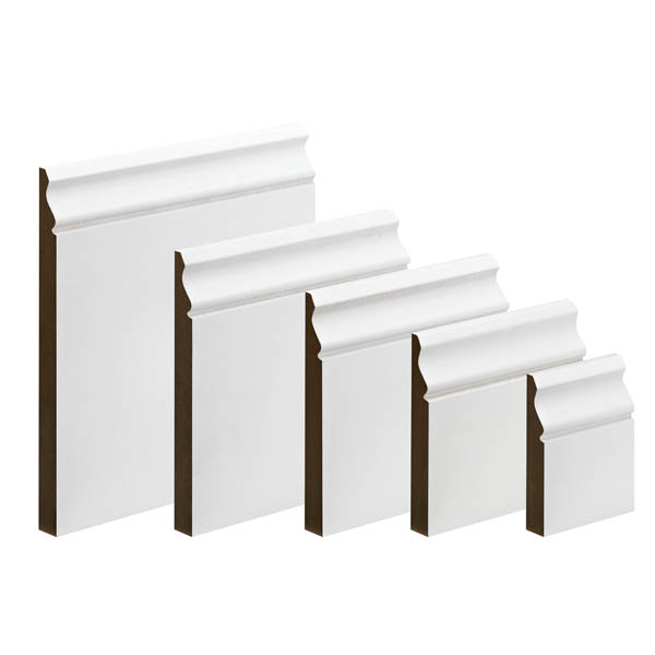 MDF Ogee Skirting - 18mm x 170mm - Per Metre
