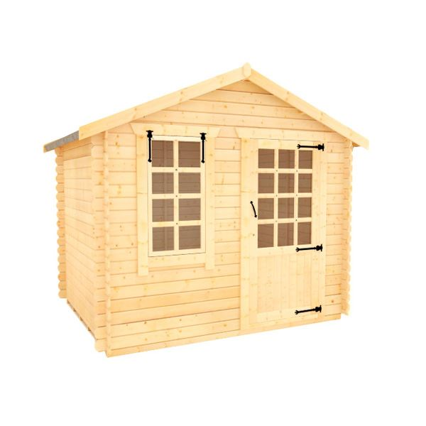 White Label Olympia - 19mm Log Cabin - 6Ft Length x 8Ft Width