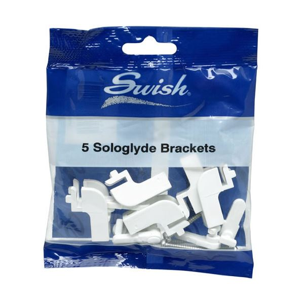 Swish Sologlyde - Curtain Track Brackets (5)