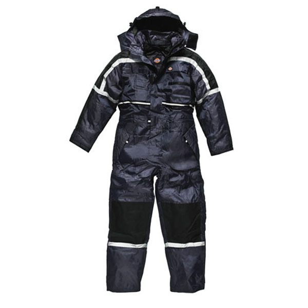 Dickies Padded Coverall Suit - Navy Blue - Large