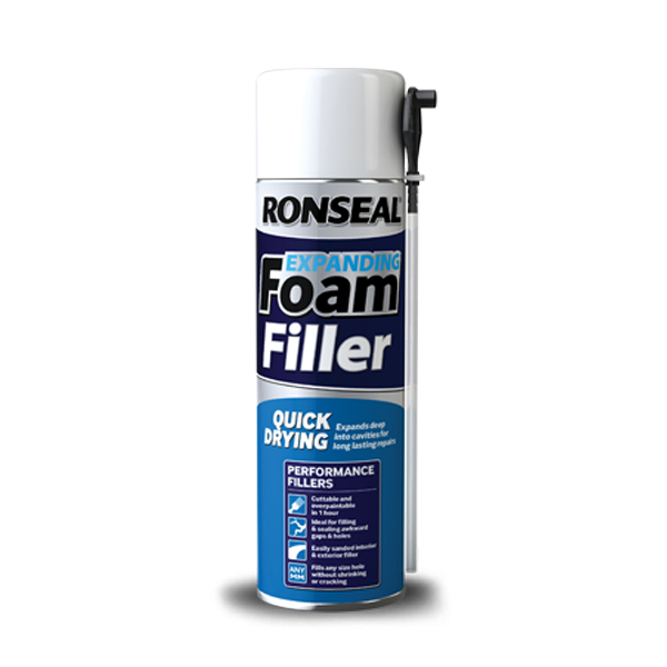 Ronseal Expanding Foam Filler 500ml