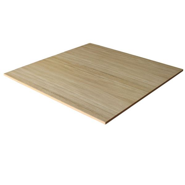MDF Fibreboard Sheet - 18mm x 8Ft x 4Ft - (Oak Faced)