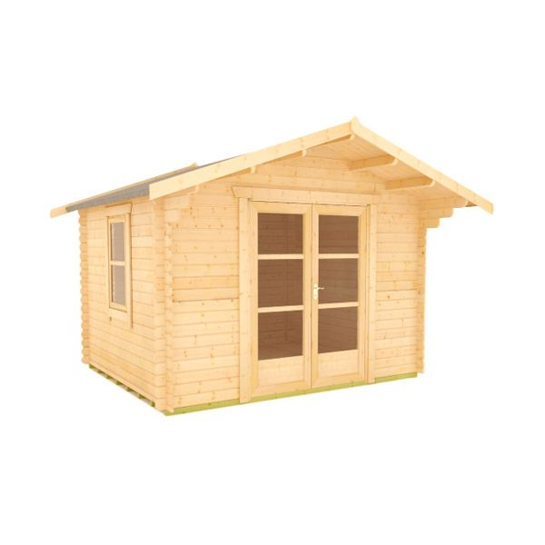 The Panthera - 28mm Log Cabin - 8Ft Length x 12Ft Width
