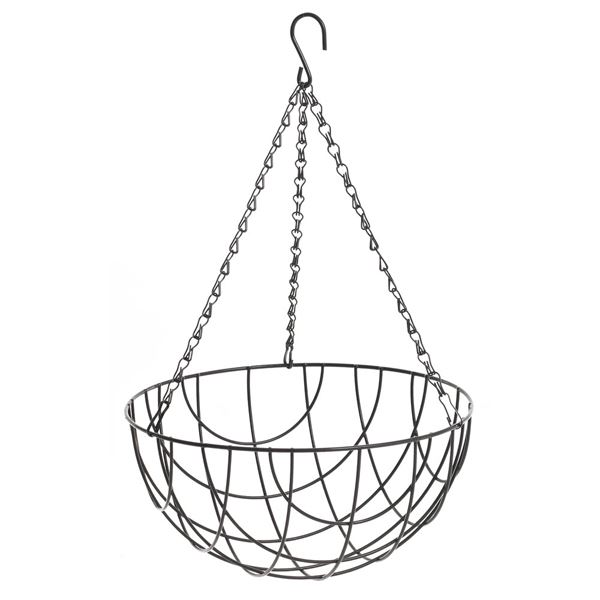 Apollo Hanging Basket - Wire 12""