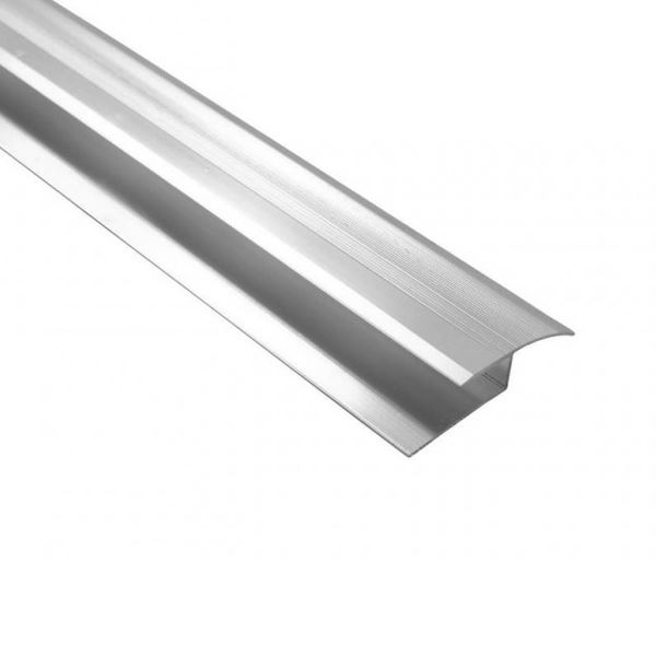 Centurion Laminate Edging - Chrome - Round