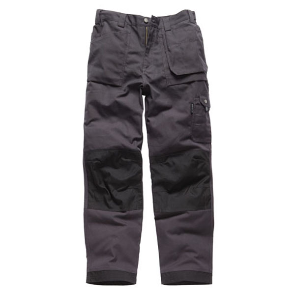 Dickies Eisenhower Multi-Pocket Trousers - Grey - 32 Regular