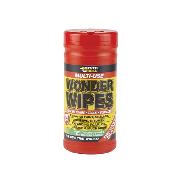 Everbuild Wonder Wipes - (Red Tub)