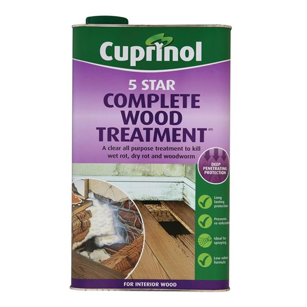 Cuprinol 5 Star Wood Treatment 5Lt
