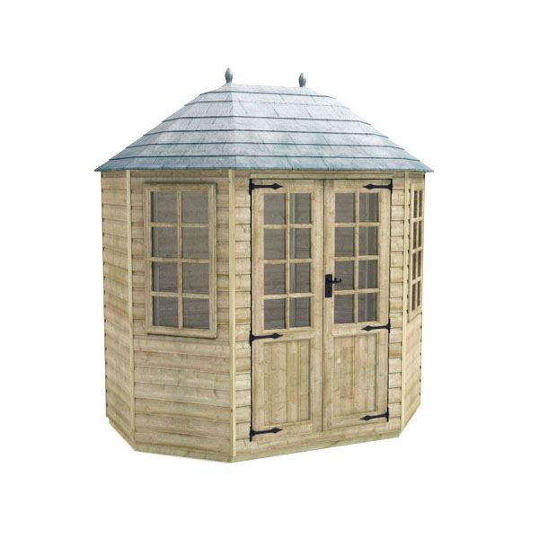 Tiger Elite Octagonal - Pressure Treated - 8Ft Length x 6Ft Width
