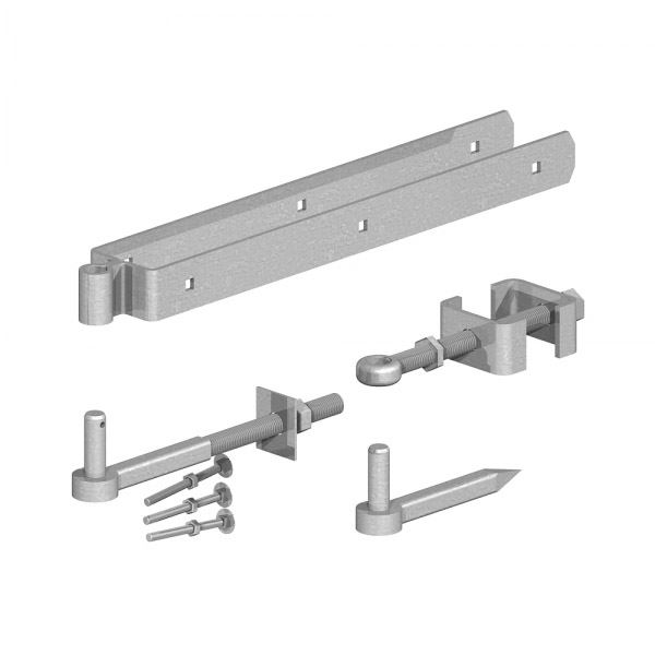 Field Gate - Adjustable Hinge Set 600mm