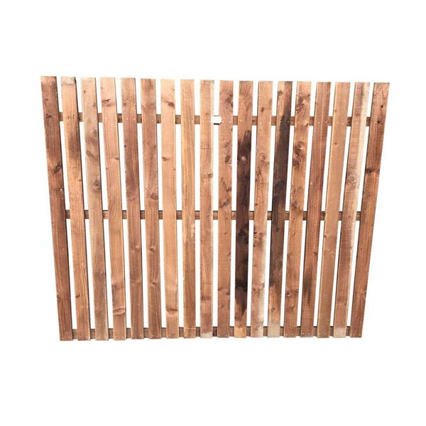 Paling Fence Panel - 6Ft Wide x 2Ft High - (TO ORDER)