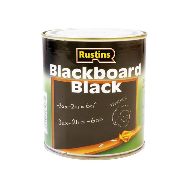 Rustins Blackboard Paint 500ml