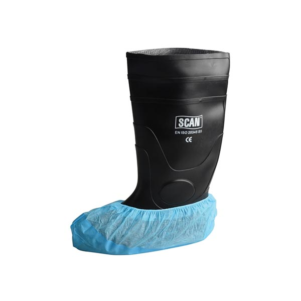 Scan Disposable Overshoes - (20 Pairs)
