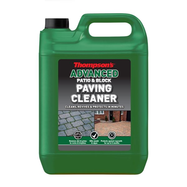Thompsons Patio & Block Paving Cleaner 5Lt